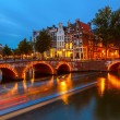 Stock Photo: Canals in Amsterdam
