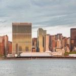 Panorama van manhattan, new york city — Stockfoto