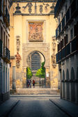 Gate to La Giralda in Sevilla — Stock Photo