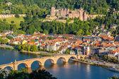 View on Heidelberg — Stockfoto