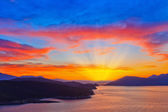 Greek Sunset — Stock Photo