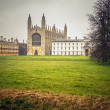 Kings College Chapel, Cambridge — Stockfoto