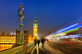 Londen 's nachts — Stockfoto