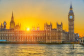 Houses of parliament, London — Stock Photo