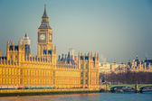 Big Ben and Houses of parliament, London — Stock Photo