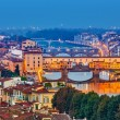 Bridges in Florence — Stock Photo