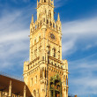 Munchen new town hall — Stock Photo