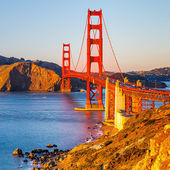 Golden gate bridge — Stockfoto