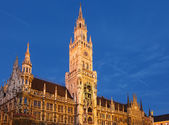Munchen new town hall — Stockfoto