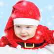 Stock Photo: Baby Santa Claus