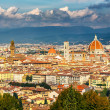 Aerial view of Florence — Stock Photo