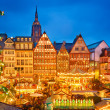 Christmas market in Frankfurt — Stock Photo #36617267