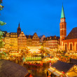 Stock Photo: Christmas market in Frankfurt