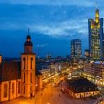 Frankfurt at night — Stock Photo #36998395