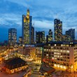 Frankfurt at night — Stock Photo #37407903