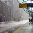 Stock Photo: Rain in Calgary, Canada