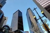 Skyscrapers in Calgary, Canada — Stock Photo