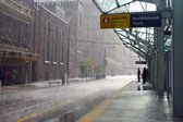 Rain in Calgary, Canada — Stock Photo