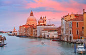 Grand Canal at sunset — Stock Photo
