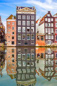 Old buildings in Amsterdam — Stock Photo