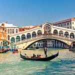 Rialto Bridge in Venice — Stock Photo #44644389
