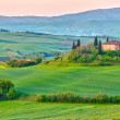 Tuscany at spring — Stock Photo