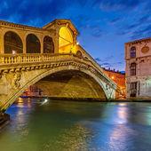 Rialto bridge, Venice — Stock Photo