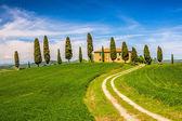 Tuscany at spring — Stock Photo