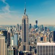 Manhattan aerial view — Stock Photo #48578721