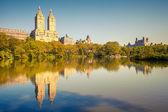Central park op zonnige dag — Stockfoto