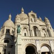 Sacré-Coeur, Montmartre, Paris — Stock Photo