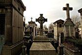 Parisiska kyrkogård — Stockfoto