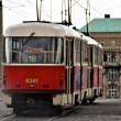 Prague Tram — Stock Photo #19725083