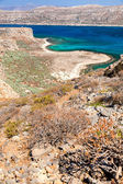 Turquoise Water of Balos Bay — Stock Photo