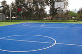 Basketball playground at school — Stock Photo