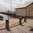 Hastings Jetty Fish Shed - Stock Photo
