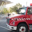 Fire brigade truck - Stock Photo