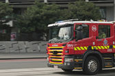 Fire brigade truck — Stock Photo