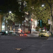Stock Photo: Bourke street at night