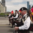 Stock Photo: Bagpipers at parade in Melbourne