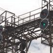 Stock Photo: Railway traffic lights