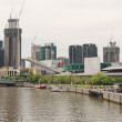 Stock Photo: Southbank panoramon Yarra