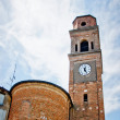 Church of Campagnola Emilia, north of Italy — Stock Photo