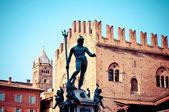 Neptune Statue in Bologna, Italy — Stock Photo