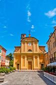 Kirche der campagnola emilia, nördlich von italien — Stockfoto
