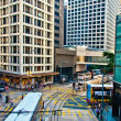 Streets and traffic in Hong Kong financial center — Stock Photo #13815752