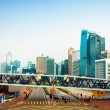 Streets and traffic in Hong Kong financial center — Stock Photo #13815819