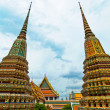 Ancient Pagoda at Wat Pho temple in Bangkok Thailand — Stock Photo