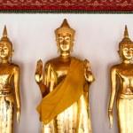 Buddha statues in Wat Pho temple, Bangkok — Stock Photo #13815976