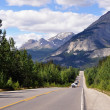 Stock Photo: Icefields Parkway panorama